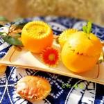 #《风味人间 》美食复刻大挑战#蟹酿橙