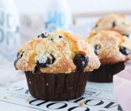 蘑菇头蓝莓玛芬蛋糕