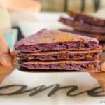 紫薯黑芝麻软饼 宝宝辅食食谱