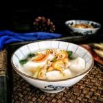 河蚌豆腐汤