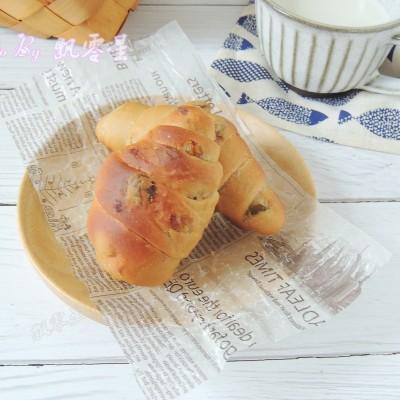 红糖葡萄干早餐卷