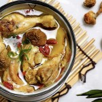 松茸枸杞土鸡汤