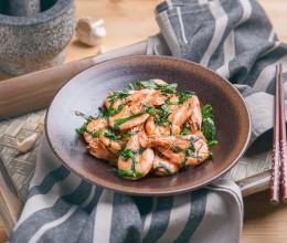 鲜虾烧韭菜