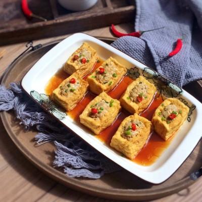 肉酿豆腐盒子