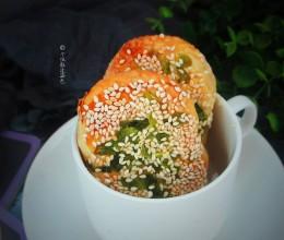 葱花油酥饼