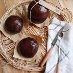 爆浆巧克力面包(两种夹馅)
