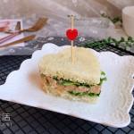 金枪鱼爱心三明治#非常规吃鱼法#