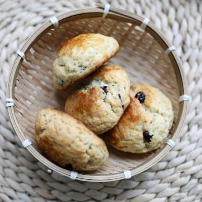 木糖醇蔓越莓司康——减脂和糖尿病人也可以吃的甜点