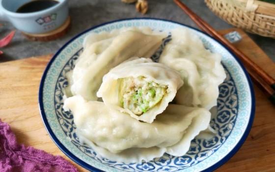 鲅鱼萝卜水饺#非常规创意吃鱼法#