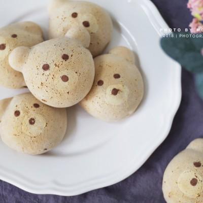 小熊麻薯面包
