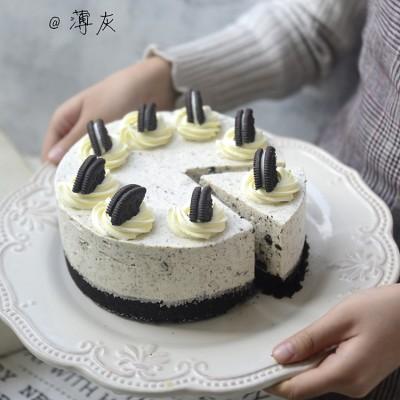 【奧利奧凍芝士蛋糕】拯救新手的免烤美味甜點