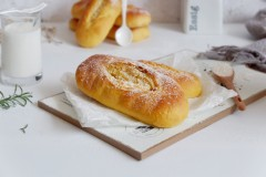 胡萝卜椰蓉面包—波兰种