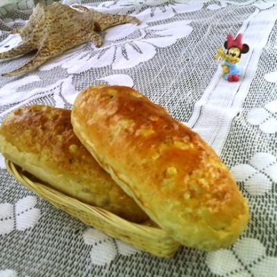 黑糖蜜薏仁面包