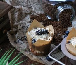 蓝莓咖啡麦芬