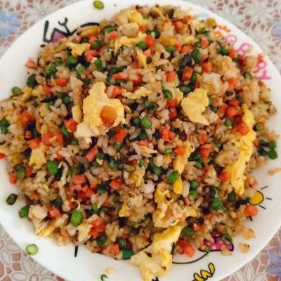 豆角橄欖菜炒飯