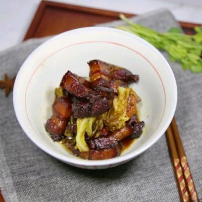 紅燒肉燉白菜