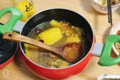 虫草花干贝玉米汤