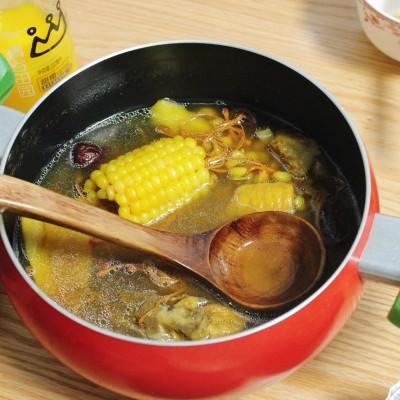 蟲草花干貝玉米湯