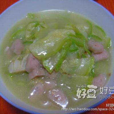 鲜虾脆炖西葫芦