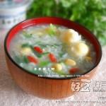 春季养生粥~荠菜黄豆