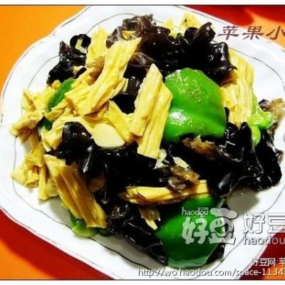 蚝油焖腐竹