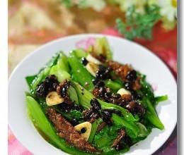 豆豉鱼油麦菜