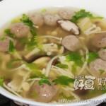 什菌牛丸汤