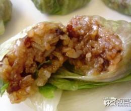 糯米腊肉卷