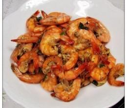 黑胡椒烤虾