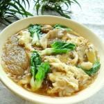 蛋菇粉丝汤