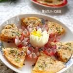 葱香牛奶红薯饼