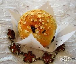 燕麦红枣面包