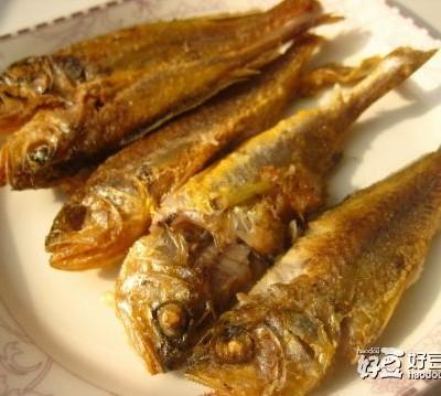 油炸小黄鱼