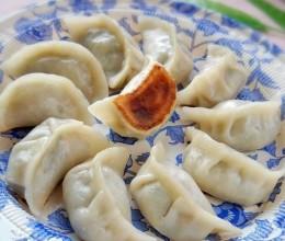 白菜鲜肉锅贴饺