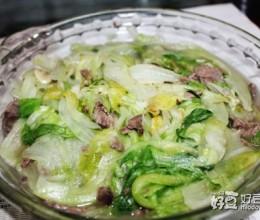 牛肉西生菜