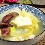 白菜豆腐汤