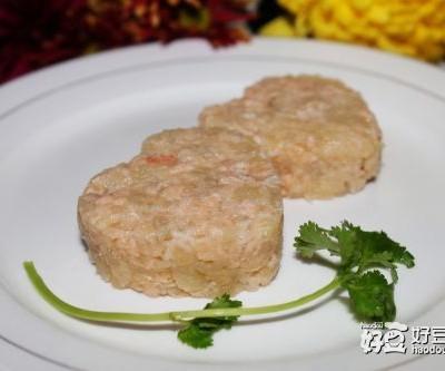 六个月宝宝辅食食谱-三文鱼土豆泥