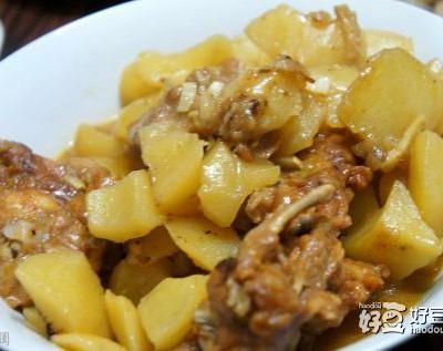 连心脆炖土豆