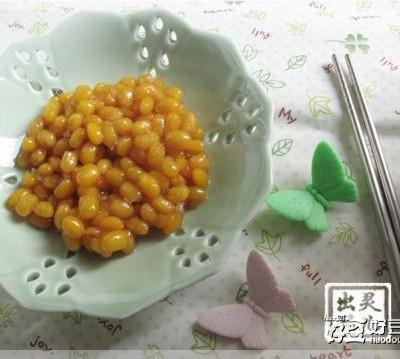 潮汕小菜—秘制甜豆