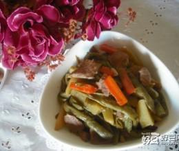 猪肉炖芸豆土豆