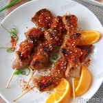 香煎猪肉串