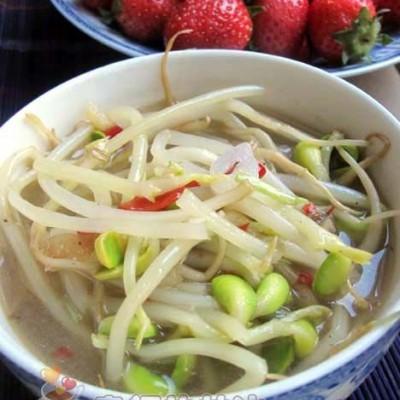 素烧豆芽汤