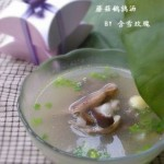 蘑菇鵪鶉湯