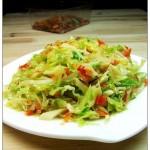 剁椒卷心菜