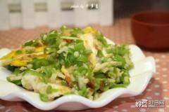 青椒焖荷包蛋