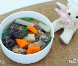 牛蒡花菇煲