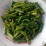 清炒长豆角