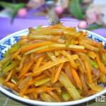 榨菜丝炒冬瓜皮