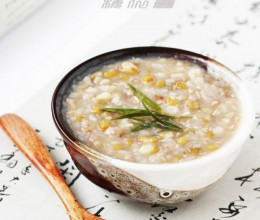 竹叶荞麦粥