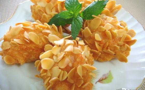 杏仁松塔虾——家庭宴